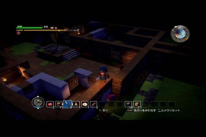 【DQB】敵から身を守る方法!外壁を作る時はこれが大事!