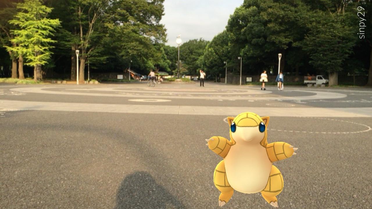 代々木公園 ポケモンGO