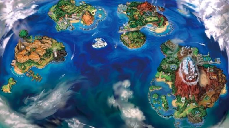 【ポケモンサンムーン】ウラウラ島攻略情報!守り神はカプ・ブルル