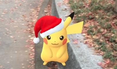 【ポケモンGO】クリスマスイベント最新情報まとめ!「サンタピカチュウ(ライチュウ)」の出現場所や期間について