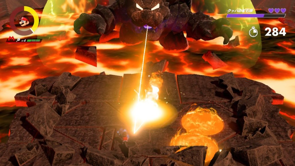 【マリオテニス エース】クッパの大石像の攻略法まとめ!『クッパの砦』