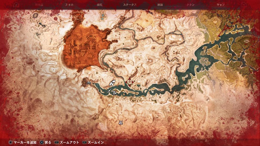 【コナンアウトキャスト】ロケーション(遺跡・洞窟・集落など)のマップ画像まとめ!