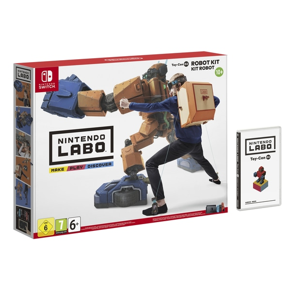 【Nintendo Labo(ニンテンドーラボ)】『ロボットキット』遊び方・発売日・価格・セット内容など!