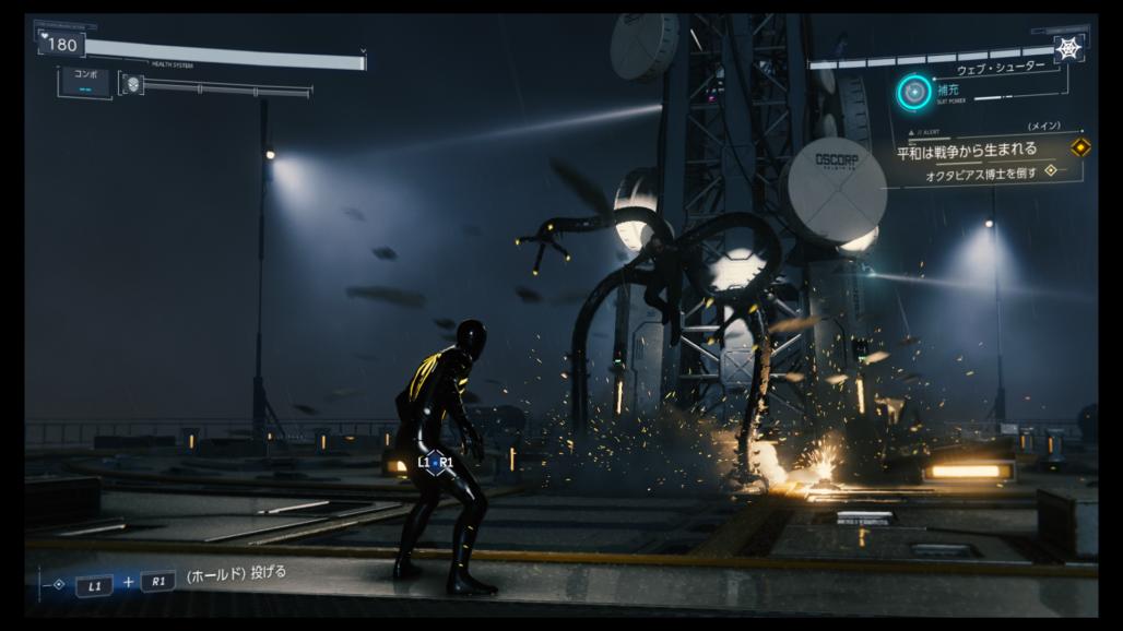 【スパイダーマン PS4】2週目要素『ニューゲーム+』の配信が決定したぞ!