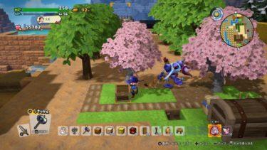 【ドラクエビルダーズ2】はなさかの灰で桜を大量生産する方法【DQB2】
