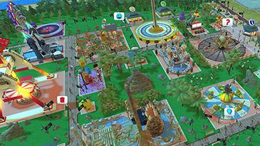 【ローラータイクーンコースターアドベンチャー】簡単で奥深い遊園地づくりを楽しもう!