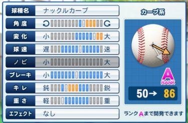 【パワプロ2020】『サクセス』オリジナル変化球の習得方法まとめ!